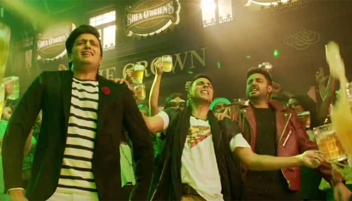 Song out: 'Housefull 3' gang gives you a new party anthem in the form of 'Taang Uthake'! – Watch