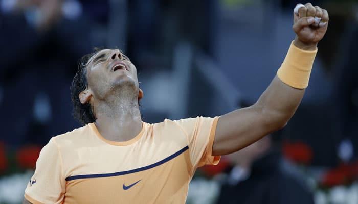 Madrid Masters: Rafael Nadal, Andy Murray, Novak Djokovic into semi-finals