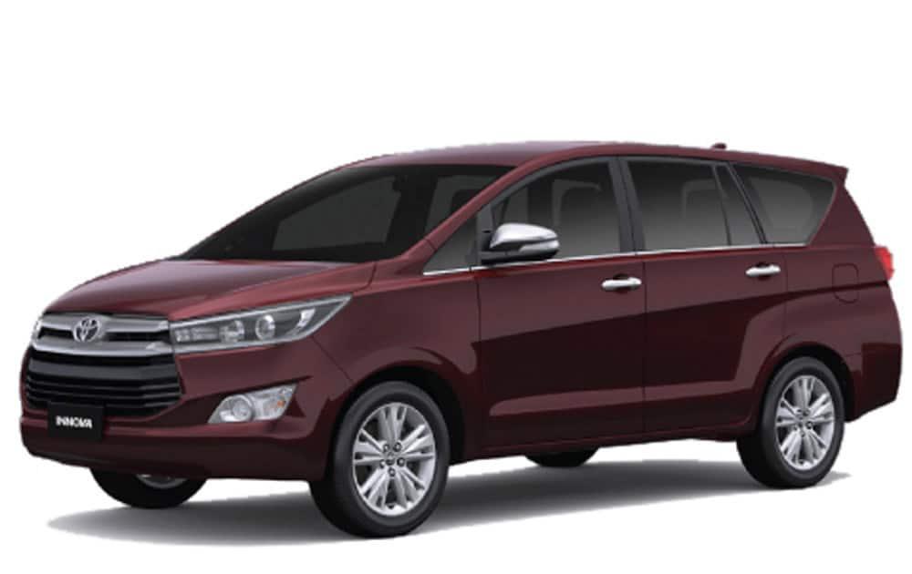 1.Toyota Innova Crysta