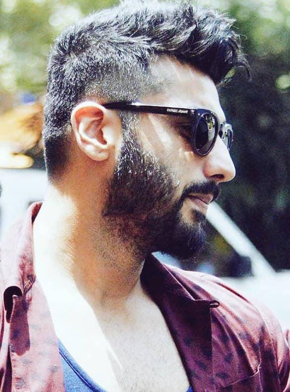 Arjun Kapoor :- Last year this time !!! Beard game on fleek #goodbeardday sharpish haircut #goodhairday !!! -twitter