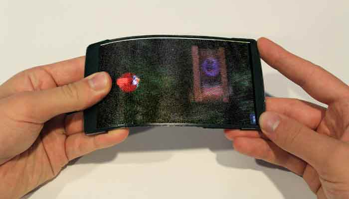 World's first holographic flexible, glasses-free smartphone developed - Watch!