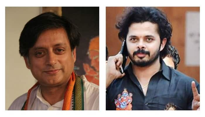 Tharoor, Sreesanth bury the hatchet at this girl's birthday party, know who is she