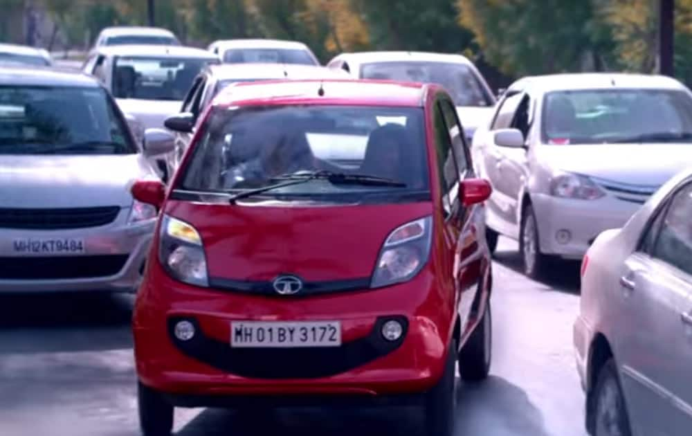 Tata Motors was also pulled up for violation of traffic rules in its ad for its GenX Nano Easy Shift where vehicle indicator light was not lit while overtaking another vehicle.