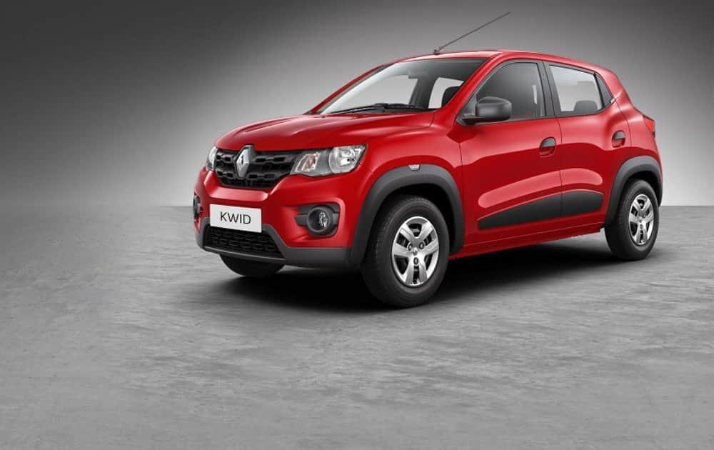 6. Renault Kwid (9,795 units)