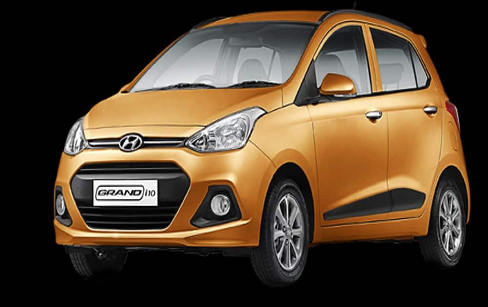 5. Hyundai Grand i10 (9,840 units)