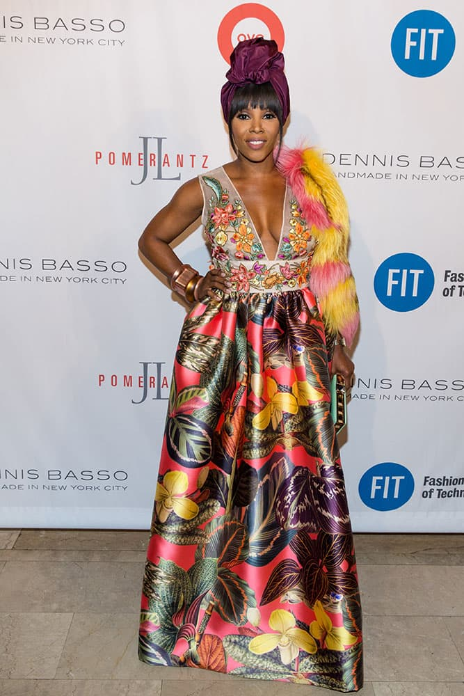 June Ambrose attends the Fashion Institute of Technology Annual Gala benefit at The Plaza in New York.