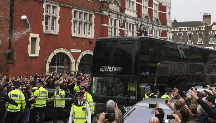 West Ham United to issue life bans for Manchester United bus attackers