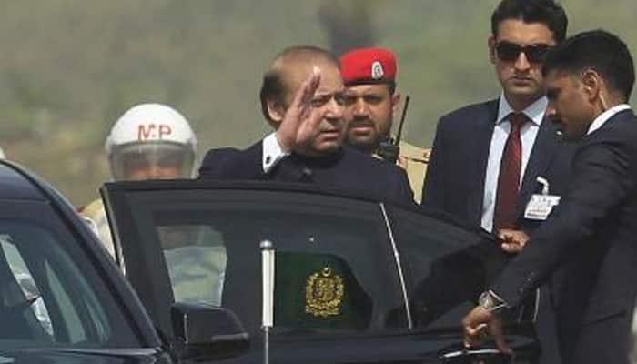 Pakistan PM Nawaz Sharif arrives on two-day visit to Tajikistan