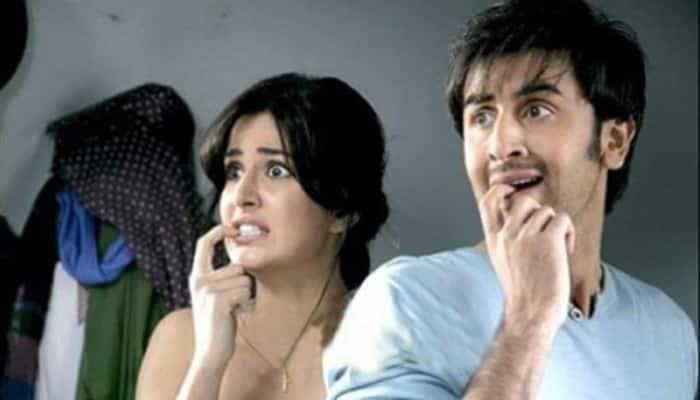 Video alert! No discomfort at all - Ranbir Kapoor, Katrina Kaif shoot for 'Jagga Jasoos'