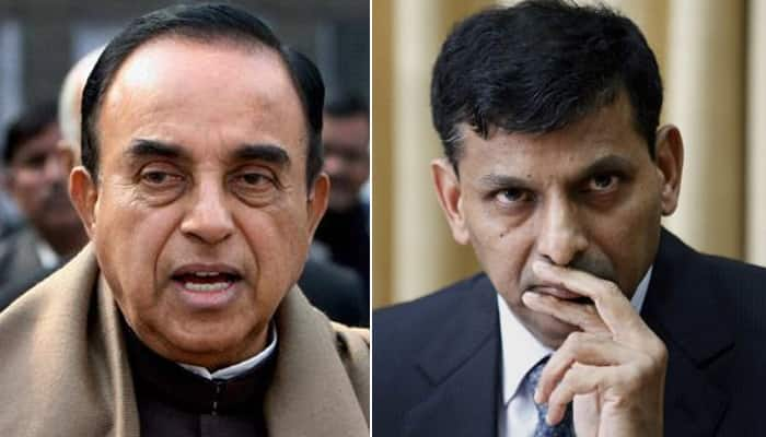 Subramanian Swamy says RBI Governor Raghuram Rajan should be sent to Chicago - know why