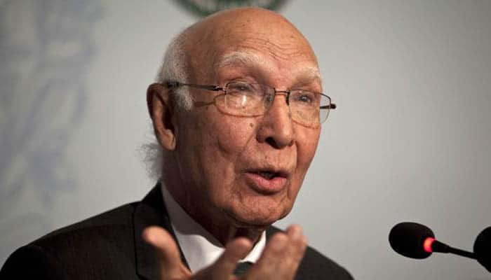 Indian lobby trying to block US' F-16s sale to Pak: Aziz