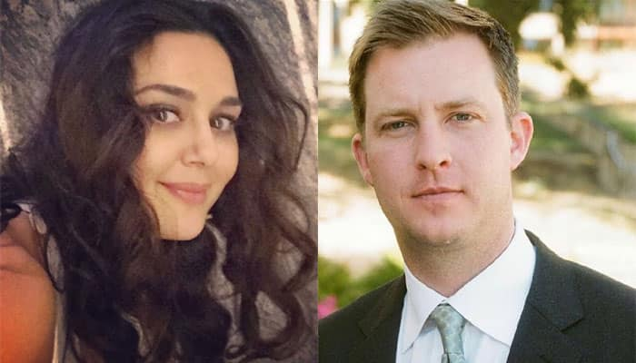 Wah Taj! Preity Zinta strikes a pose with hubby Gene Goodenough, in-laws – See pic