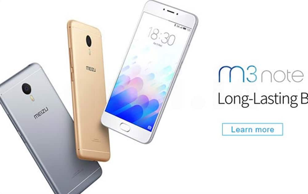 Meizu M3 Note priced at Rs 9,999. Comes with 5.5-inch display, Octa-core Helio P10 processor clocked at 1.8 GHz CPU coupled with 3GB of RAM.