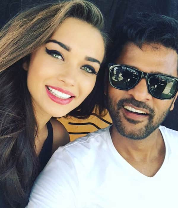 Another reunion on set today for #2in1 song shoot. Shaking a leg with India's M.J @PDdancing- twitter@iamAmyJackson