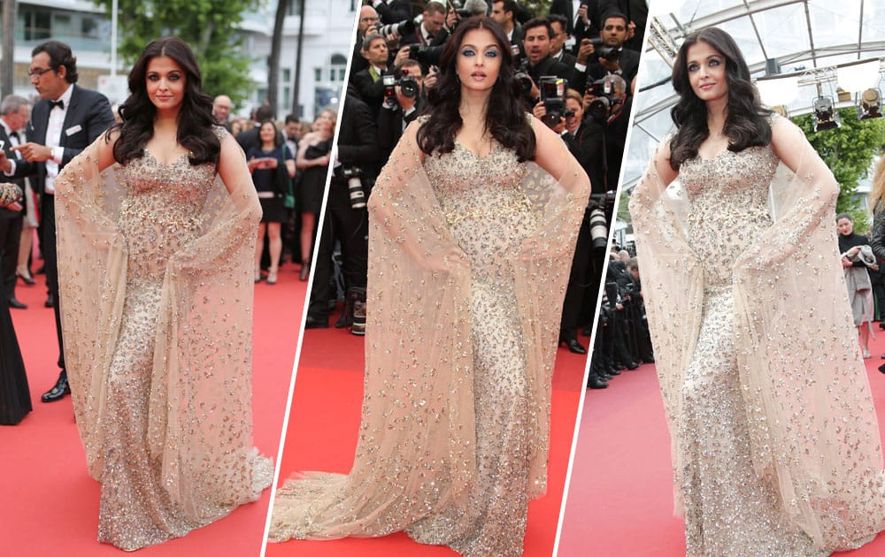 Aishwarya Rai Bachchan sizzles at the Cannes Film Festival 2016