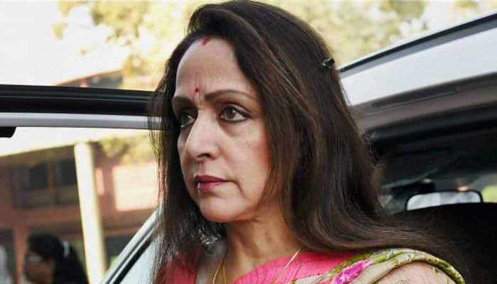 BJP MP Hema Malini insulted village pradhan's husband as he apprised her about felling of trees?