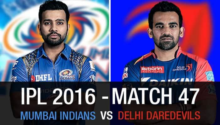 Indian Premier League 2016, Match 47: Mumbai Indians vs Delhi Daredevils — As it happened...