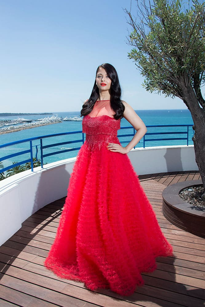 Actress Aishwarya Rai Bachchan poses during portraits at the 69th international film festival, Cannes.