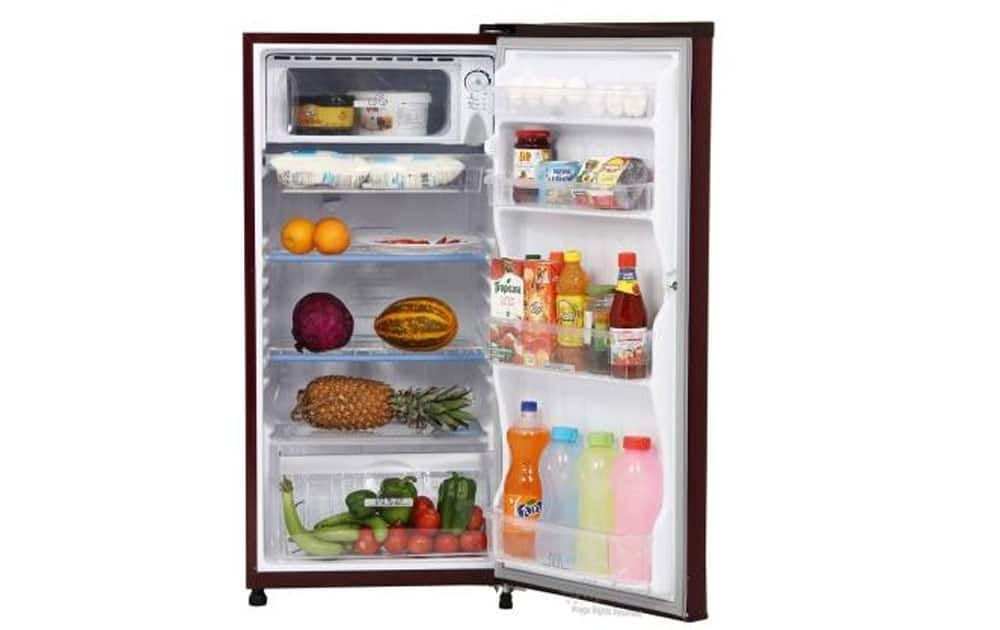 Panasonic NR A195RMP Single Door 190 Litres priced at Rs 9,990 (Amazon). It comes with 190ltr capacity ,Direct Cool technology, 1 Year Warranty on the Refrigerator and 5 Years on the Compressor from Panasonic.