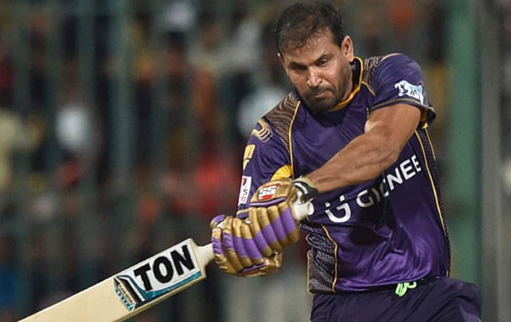 Baroda-born aggresive batsmen Yusuf Pathan holds the record for the fastest fifty in IPL history. This feat was achieved in just 15 balls at the Eden Gardens for the Kolkata Knight Riders against Sunrisers Hyderabad in the 2014 version of IPL.