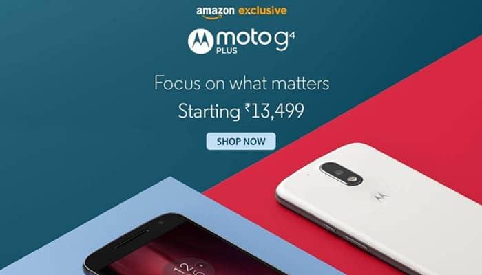 Motorola Moto 4G Plus goes on sale exclusively on Amazon