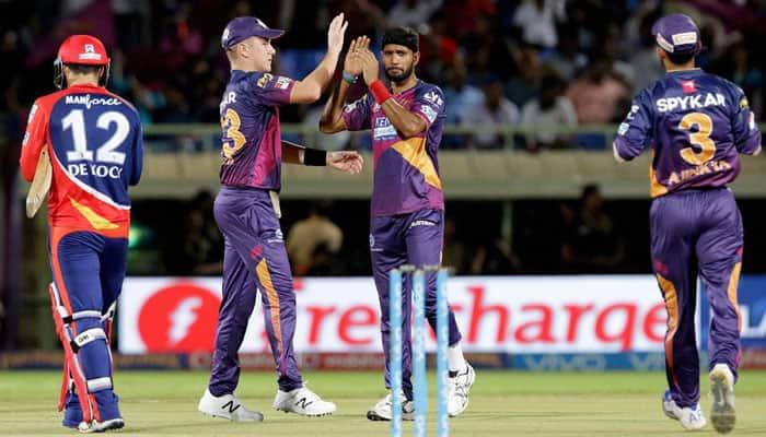 IPL 2016, Match 49: Rising Pune Supergiants beat Delhi Daredevils by 19 runs via D/L method