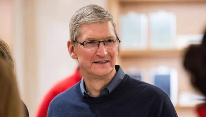 Tim Cook starts India trip with visit to Shree Siddhivinayak Temple; spotted with Anant Ambani