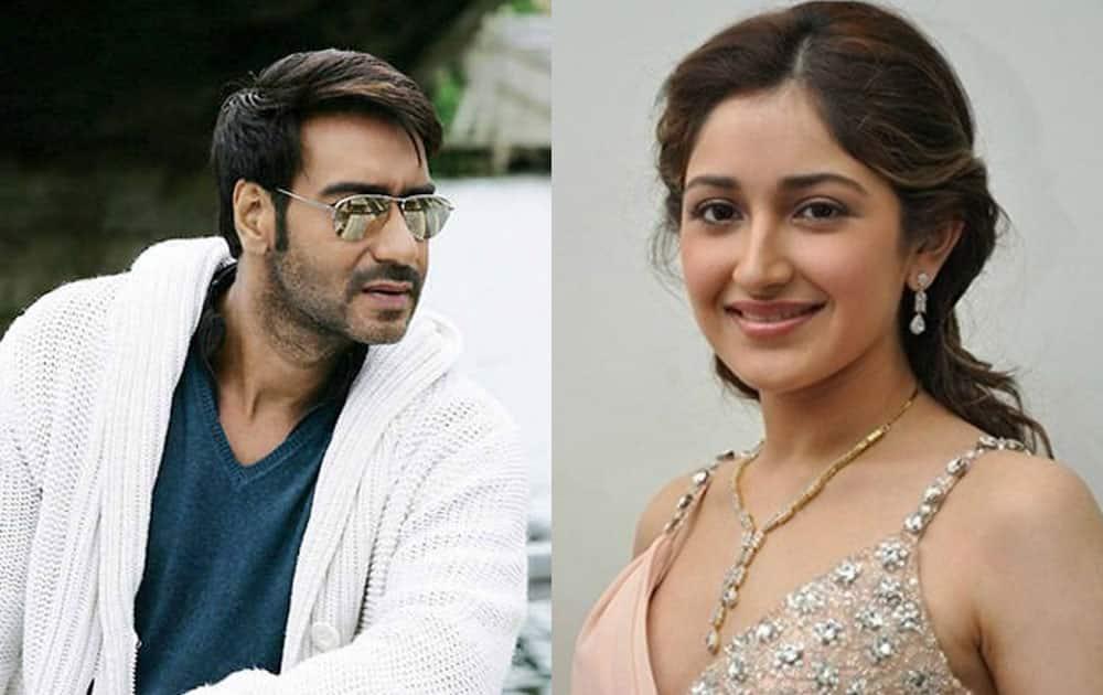 Ajay Devgn and Sayesha Saigal in 'Shivaay'