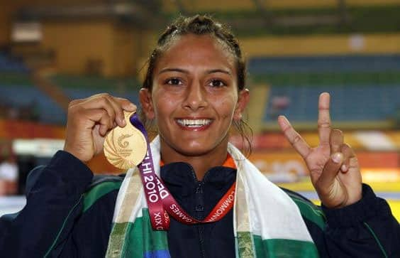 Geeta Phogat - She is India's first woman wrestler to qualify for the Olympics in the year 2012.