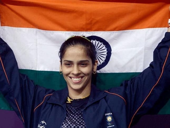 Saina Nehwal - Saina Nehwal is the first woman in India's sporting history to reach the World No 1 rank in Badminton. The Ace shuttler also won maiden Olympic medal for the country in badminton.