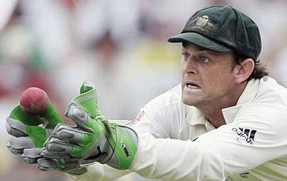 Legendary Australian wicket-keeper Adam Gilchrist need just 42 balls to breach the 100 run mark for the Deccan Chargers against the Mumbai Indians at the DY Patil stadium in Mumbai.