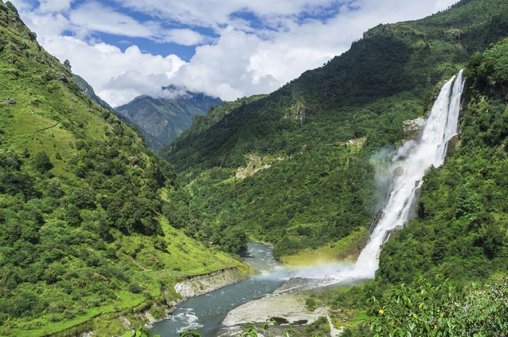The spellbinding Kameng river walterfall.