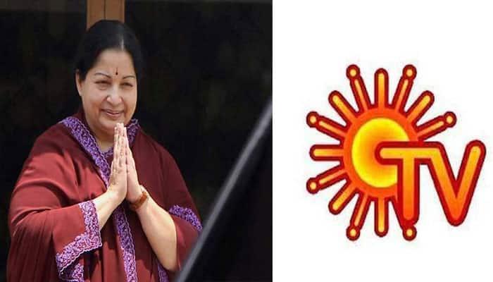 As Jayalalithaa turns victorious, Sun TV's stock feels the heat!