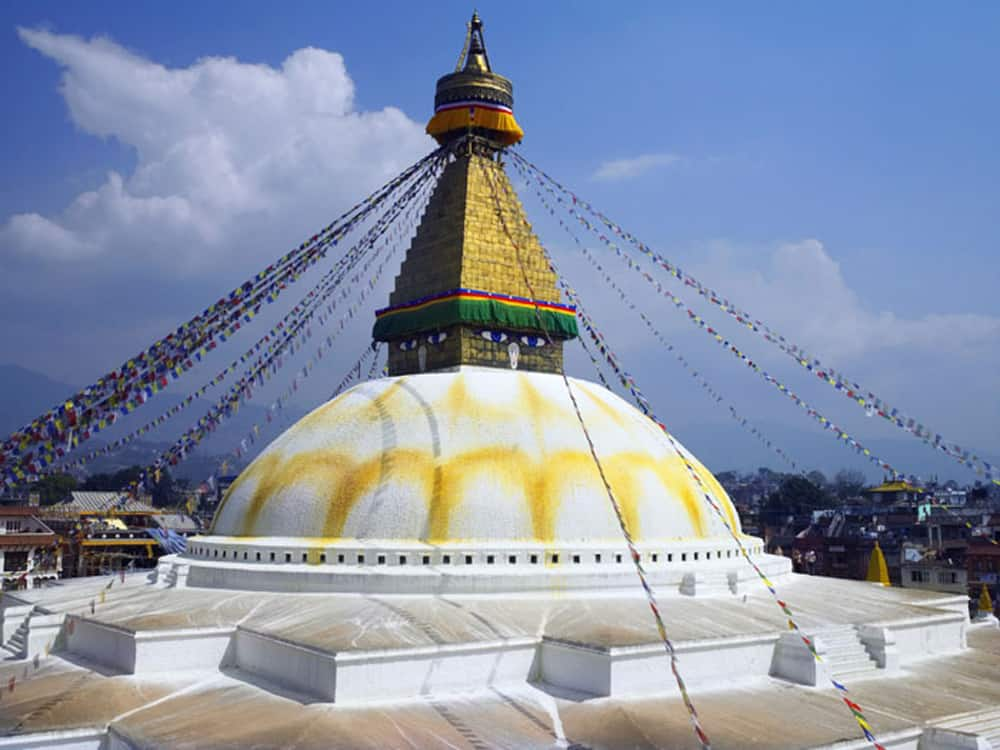 Boudhnath in Nepal.