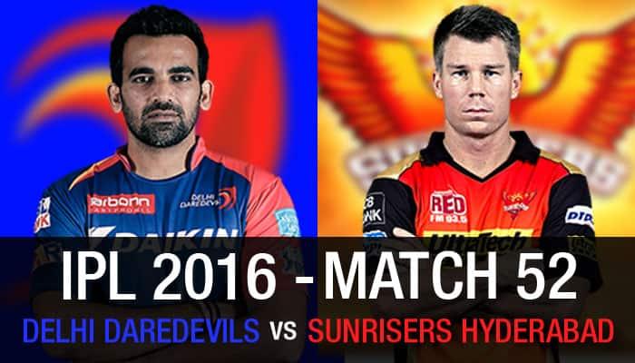 Indian Premier League 2016, Match 52: Delhi Daredevils vs Sunrisers Hyderabad — As it happened...