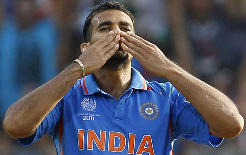 Indian veteran Zaheer Khan is at the tenth spot with 91 wickets in 88 matches.