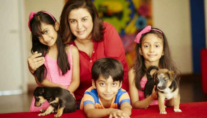 Check out: Doting mommy Farah Khan's day out with son!