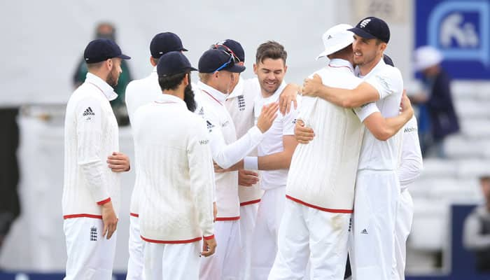 James Anderson leads England to crushing win over Sri Lanka in first test