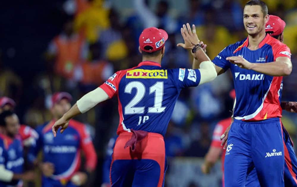 The Delhi Daredevils sit at the seventh spot with their total of 231 runs against the Kings XI Punjab at the Feroz shah Kotla in New Delhi.