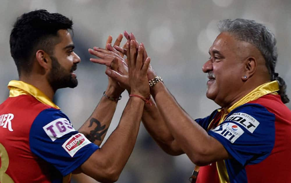 The Royal Challengers Bangalore scored 235 runs at the Wankhede stadium in Mumbai against the Mumbai Indians.