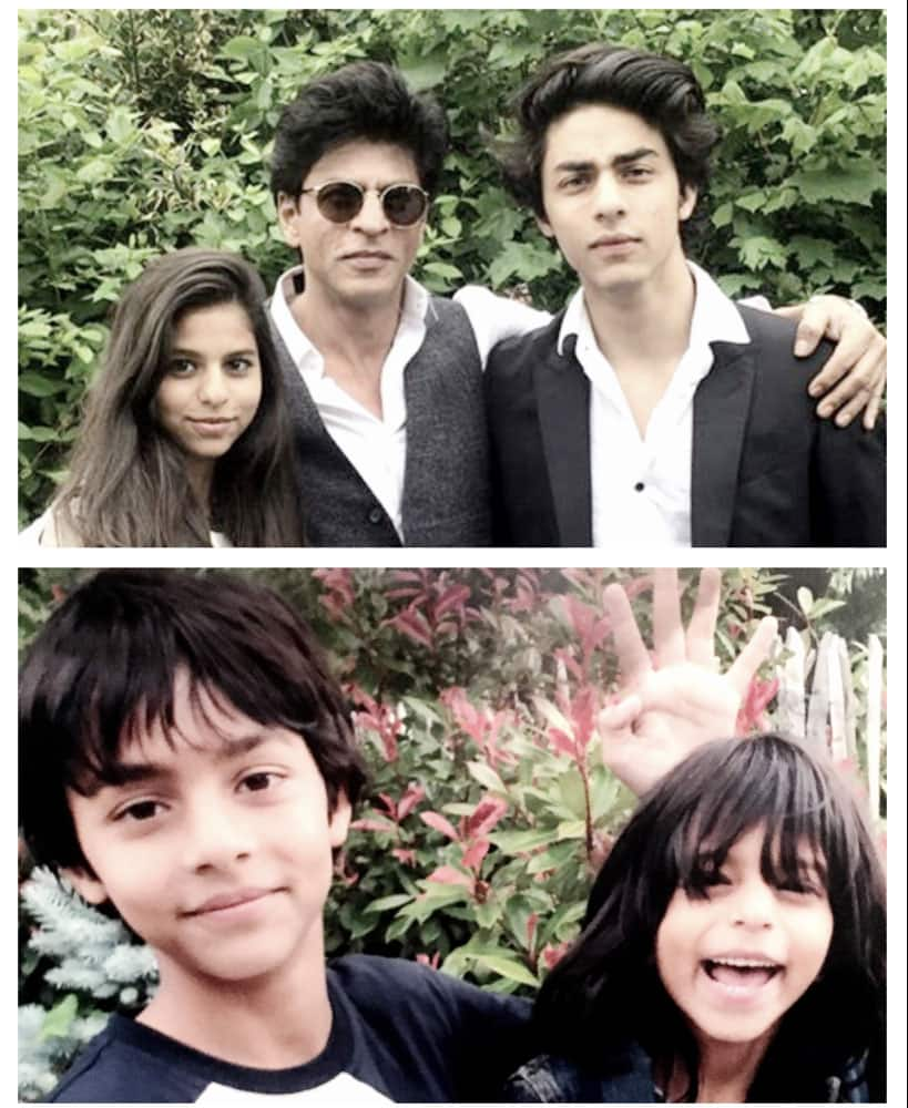 Shah Rukh Khan ‏@iamsrk  :- Today the only negative is that my kids have grown up…now to wait till they start believing in fairy tales again… -twitter