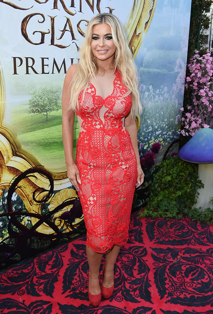 Carmen Electra arrives at the premiere of