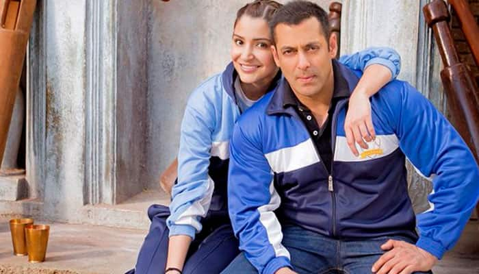 Freeze frame! 'Sultan' Salman Khan and 'Aarfa' Anushka Sharma in a 'romantic' still – See pic