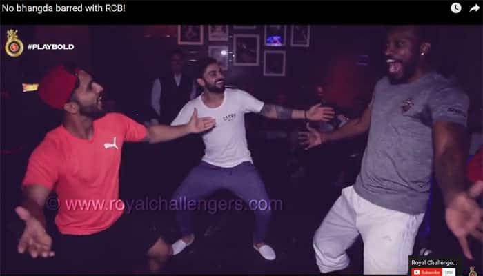 Must watch VIDEO: When RCB's Virat Kohli, Chris Gayle performed 'Bhangda'