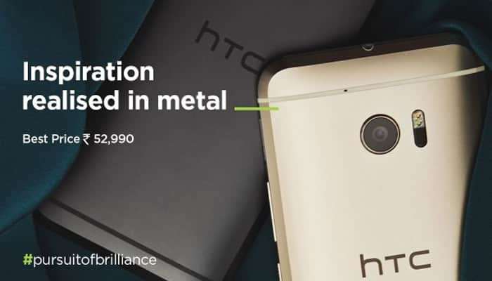 HTC 10 smartphone launched in India at Rs 52,990