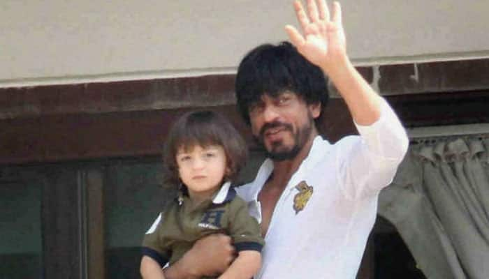 Happy Birthday AbRam Khan, you are an adorable munchkin! See what daddy Shah Rukh posted