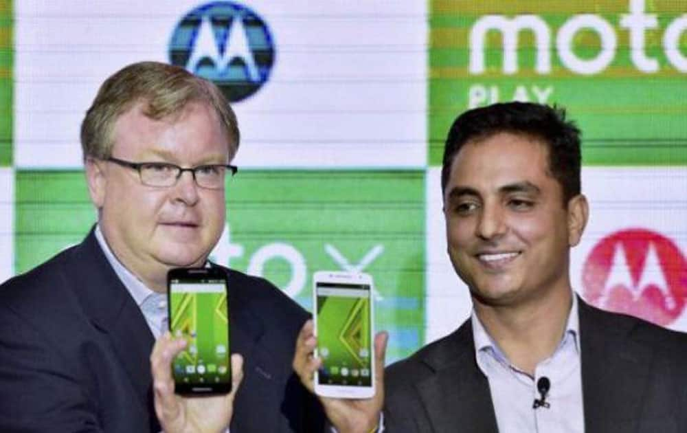 5. Motorola: 5.7% (Source: IDC Quarterly tracker, Q1 2016)