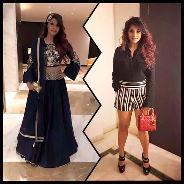 When your style is on fleek and you have to decide which one to go ahead with ;) Which one would you pick?- twitter@TanishaaMukerji