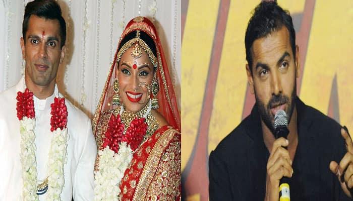 Here's what John Abraham has to say on former girlfriend Bipasha Basu's wedding!