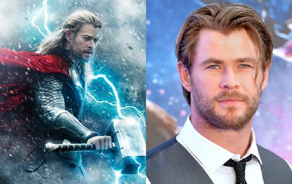 Thor- Chris Hemsworth